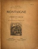 Book Montaigne
