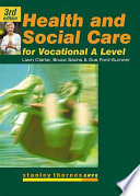 Health and Social Care for Advanced GNVQ