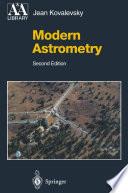 Modern Astrometry