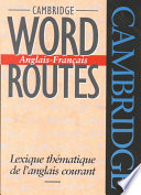 Cambridge Word Routes Anglais Fran Ais