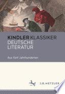 Deutsche Literatur Aus f  nf Jahrhunderten