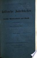 Deutsche Jahrb  cher f  r Wissenschaft und Kunst