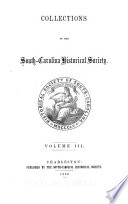 Collections of the South Carolina Historical Society Book PDF