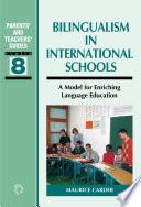 Bilingualism in International Schools