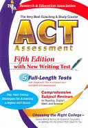 ACT Assessment  REA    the Very Best Coaching and Study Course for the ACT