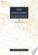 L Analisi Linguistica e Letteraria 2010 2