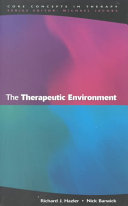 The therapeutic environment