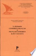 Le dictionnaire comorien-français et français-comorien du R.P. Sacleux
