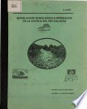 Modelacion Hidrologica E Hidraulica en la Cuenca Del Rio Caldera
