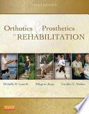 Orthotics and Prosthetics in Rehabilitation   E Book