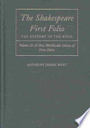 The Shakespeare First Folio  A new worldwide census of first folios