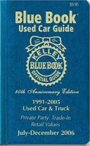 Kelley Blue Book Used Car Guide 1991 2005