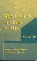 download ebook monologues for men by men pdf epub
