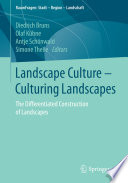 Landscape Culture   Culturing Landscapes