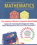 A Problem Solving Approach to Mathematics for Elementary School Teachers Plus Interactive CD
