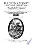 Ragionamenti     sopra i sette peccati mortali  sopra i sette salmi Penitentiali del R   David  with the text in Latin   ridotti in sette canzoni  etc