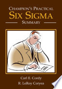 Champion s Practical Six Sigma Summary