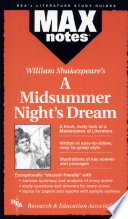 Midsummer Night s Dream  a  MAXNotes Literature Guides