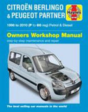 Citro N Berlingo And Peugeot Partner Service And Repair Manual