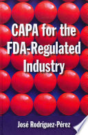 Capa For The Fda Regulated Industry