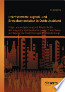 """Rechtsextreme Jugend- und Erwachsenenkultur in Ostdeutschland: Folgen von Ausgrenzung und M""""glichkeiten der Integration rechtsextremer junger Erwachsener am Beispiel der Stadt Hennigsdorf (Brandenburg)"""