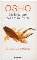 Meditazione per chi ha fretta