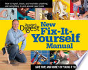 New Fix it yourself Manual
