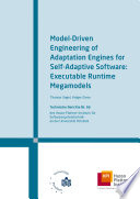 Model Driven Engineering Of Adaptation Engines For Self Adaptive Software