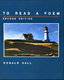 Ebook To Read a Poem Epub Donald Hall Apps Read Mobile