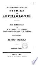 Hyperboreisch R Mische Studien F R Arch Ologie Mit Beitr Gen Von K O M Ller Et Al