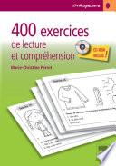 illustration 400 exercices de lecture et compréhension
