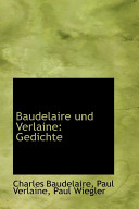 Baudelaire Und Verlaine, Gedichte PDF