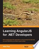 Learning AngularJS for  NET Developers