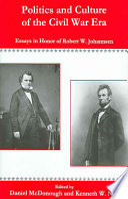 Politics and Culture of the Civil War Era