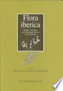 Flora ibérica: Verbenaceae-Labiatae-Callitrichaceae