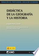 Didáctica de la geografía y la historia