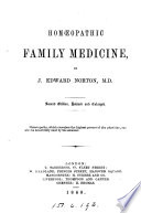 Hom  opathic family medicine