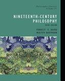 Philosophic Classics: Nineteenth-century philosophy
