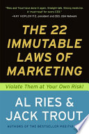Ebook The 22 Immutable Laws of Marketing Epub Al Ries,Jack Trout Apps Read Mobile