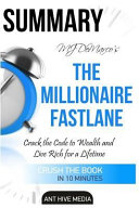 Mj Demarco S The Millionaire Fastlane book