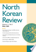 North Korean Review  Vol  11  No  2  Fall 2015