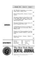 New York state dental journal