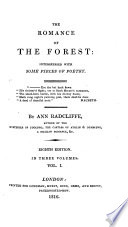 The romance of the forest  by A  Radcliffe