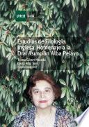 ESTUDIOS DE FILOLOGÍA INGLESA. HOMENAJE A LA DRA. ASUNCIÓN ALBA PELAYO