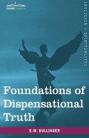 download ebook foundations of dispensational truth pdf epub