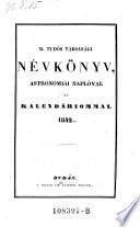 M. Tudós Társasági névkönyv