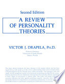 Ebook A REVIEW OF PERSONALITY THEORIES Epub Victor J. Drapela Apps Read Mobile