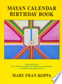 Mayan Calendar Birthday Book Represents The Energy Of One Of