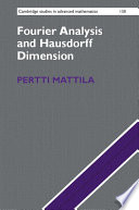 Fourier Analysis and Hausdorff Dimension
