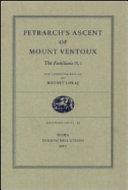 Petrarch s Ascent of Mount Ventoux